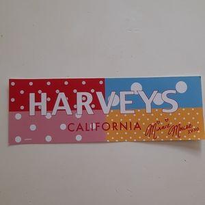 Harveys Seatbelt Minnie Mouse bumper sticker